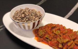Quinoa e Piattoni al Pomodoro